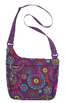 3C48917  Paisley Laptop Mesenger Bag