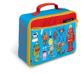 CR4033-3 Robots Classic Lunch Box