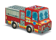 CR4100-1 48pc Fire Truck - Vehicle Puzzle