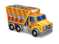 CR4100-3 48pc Dump Truck - Vehicle Puzzle