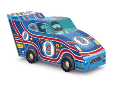 CR4100-4 48pc Race Car - Vehicle Puzzle