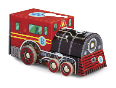 CR4100-8 48pc Locomotive - Vehicle Puzzle