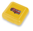 CR6511-2 Fire Truck Sandwich/Snack Keeper