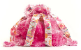 FM-BP1708 Large Backpack Cotton Candy Pink