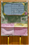 HCG100 Pastel Pink and Green Homework Caddy