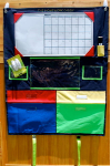 HCM100 Multi Primary Color Homework Caddy