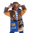 Ki-00115 Pirate Raincoat