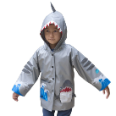 Ki-00121 Shark Raincoat