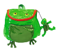 Ki-00410 Frog Backpack