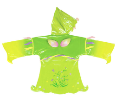 Ki-00108 Fairy Raincoat Back