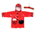 Ki-00111 Lady Bug Raincoat