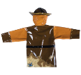 Ki-00116 Pirate Raincoat Back