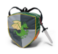 KI-00418 Dragon Knight Backpack