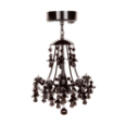 LL-LLS1059 Black Battery Operated Chandelier w Motion Detector