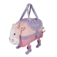 OP1003 Mary Mare (pink horse) Snuggle Duffel