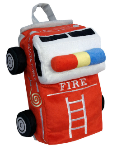OP QW1403 Fire Truck Backpack