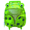 SA3520FG Frog Animal Pull-Along Backpack