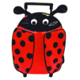 SA3520LB Lady Bug Animal Pull-Along Backpack