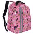 WK60020 Pink Horses Echo Backpack