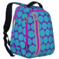 WK60119 Big Dot Aqua Echo Backpack