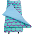 WK28119 Big Dots Aqua Nap Mat