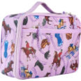 WK33018 English Riding Lunch Box (purple)