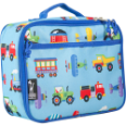WK33079 Olive Kids Trains, Planes & Trucks Lunch Box