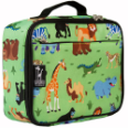 WK33080 Olive Kids Wild Animals Lunch Box