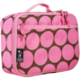 WK33085 Big Dots-Pink Lunch Box