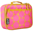 WK33118 Big Dots Hot Pink Lunch Box