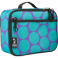 WK33119 Big Dots Aqua Lunch Box