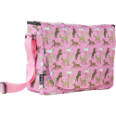 WK38020 Horses in Pink Laptop Messenger Bag