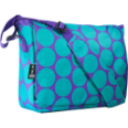 WK41119 Big Dots Aqua Kickstart Messenger Bag