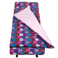 WK28212 Peace Signs Purple Nap Mat
