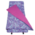 WK28311 Watercolor Ponies Purple Nap Mat