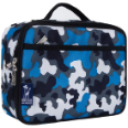 WK33213 Blue Camo Lunch Box