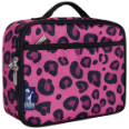 WK33214 Pink Leopard Lunch Box