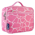 WK33260 Pink Giraffe Lunch Box