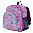 WK40310 Watercolor Ponies Pack n Snack Backpack