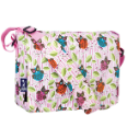 WK41211 Owls Kickstart Messenger Bag