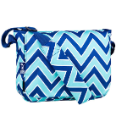 WK41551 Chevron Seabreeze Kickstart Messenger Bag