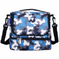 WK52213  Blue Camo Double Decker Lunch Bag