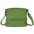 WK52501  Parrot Green Double Decker Lunch Bag