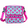 WK52550 Trellis Double Decker Lunch Bag