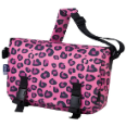WK54214 Pink Leopard Jumpstart Messenger Bag