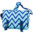 WK54551 Chevron Seabreeze Jumpstart Messenger Bag