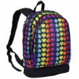 WK14701 Rainbow Hearts Sidekick Backpack