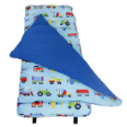 WK28079 Olive Kids Trains, Planes and Boats Nap Mat