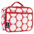 WK33315 Big Dot Red & White Lunch Box
