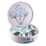 FR-36P2616 Mermaid in Kitchen Set in Round Case